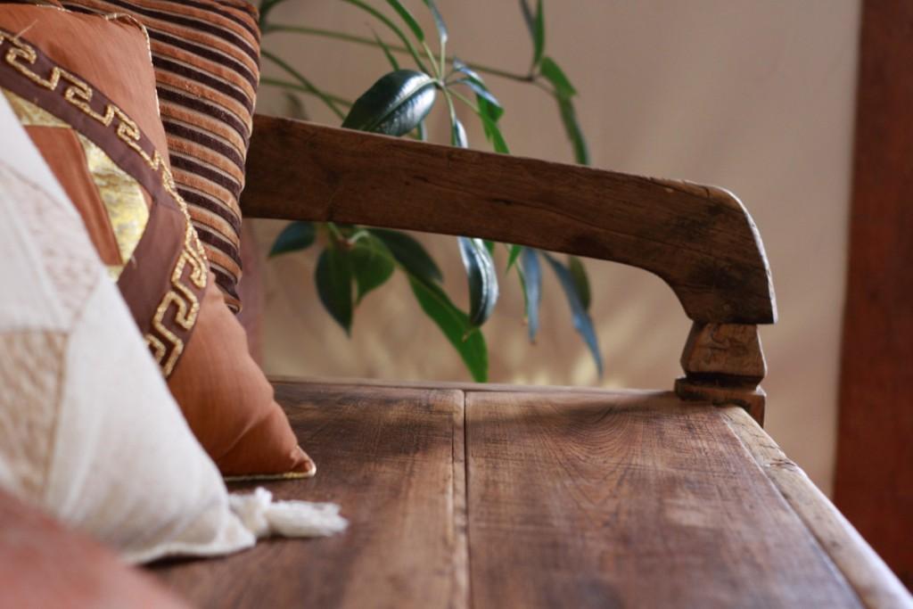 アンティーク,チーク,ウッドベンチ,ソファ,椅子,リノベーションファクトリーRUANG,オーダー家具,