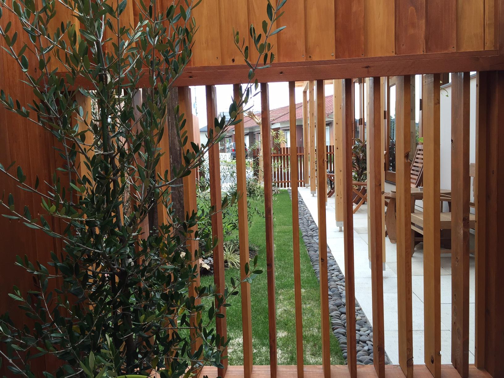 木製可動ルーバー,ウッドフェンス