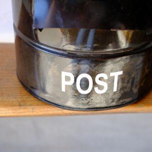 ポスト,オリジナルポスト,アンティークポスト,古缶,リメイク,ポスト1,オシャレポスト,レトロポスト